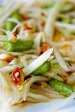 Ensalada picante tailandesa Foto de archivo libre de regalías