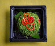 Ensalada vegetal verde Fotografía de archivo libre de regalías