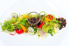 Ensalada vegetariana Imagen de archivo