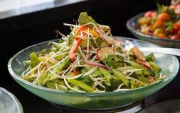 Ensalada vegetariana fresca foto de archivo libre de regalías
