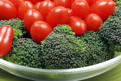 Ensalada vegetariana sana Fotos de archivo