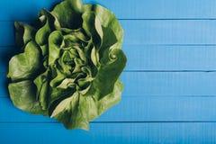 ensalada verde de la lechuga imagen de archivo