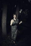 ensam dark Royaltyfria Bilder