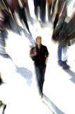 ensam folkmassa Fotografering för Bildbyråer