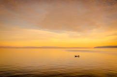 ensam hav Royaltyfri Fotografi