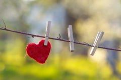 ensam hjärta Arkivbilder