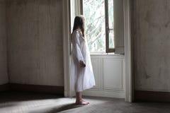 ensam morgon arkivbild
