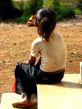 ensam n-poor Royaltyfri Foto