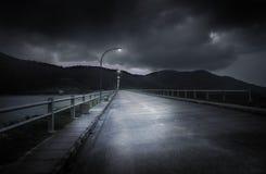 Ensam natt Arkivbilder