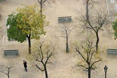 ensam park Royaltyfri Fotografi
