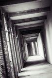 Ensam passage Arkivbild