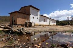 Ensam by Queixo Dantas i Caatingaen av Brasilien Royaltyfri Bild