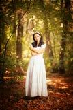 ensam skönhet Fotografering för Bildbyråer