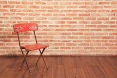 ensam stol fotografering för bildbyråer