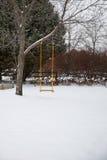 ensam swing Arkivbilder