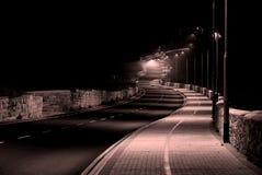 ensam väg Royaltyfri Bild