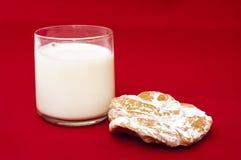 Ensaïmada glass of milk Royalty Free Stock Photography