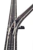 Ensambladura de la pista ferroviaria Foto de archivo