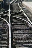 Ensambladura ferroviaria Fotografía de archivo