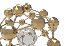 Ensamblaje complejo de la esfera ilustración del vector