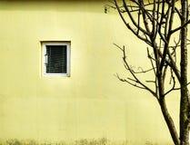 ensamt hus Arkivbild