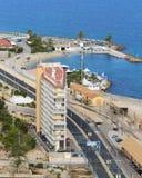 Ensamt hus av Alicante Royaltyfria Bilder