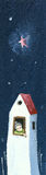 ensamt SAD för farmorhus vektor illustrationer