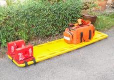 Ensanchador para el servicio del paramédico de la emergencia Foto de archivo libre de regalías