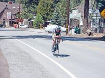 Ensayo del tiempo de la bicicleta Imagenes de archivo