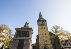Enschede city in the netherlands Royalty Free Stock Image
