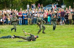 Military army show stock images