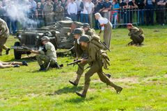 Military army show stock image