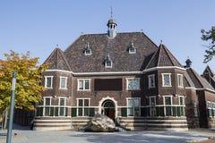 Enschede stad i den nederländska rijksmuseumen Arkivfoto