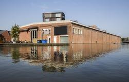 Enschede stad i det nederländska twentseWellemuseet Royaltyfri Foto