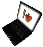 Enseñanza del onlie del aprendizaje electrónico Imágenes de archivo libres de regalías