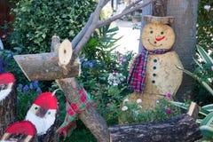 Enseñe las decoraciones para el día de fiesta de la Navidad y del Año Nuevo Fotografía de archivo libre de regalías
