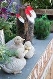 Enseñe las decoraciones para el día de fiesta de la Navidad y del Año Nuevo Imagen de archivo
