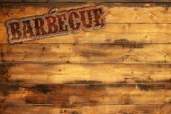 Enseigne de barbecue Photographie stock libre de droits