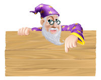 Enseigne de magicien illustration de vecteur