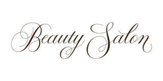 Enseigne de salon de beauté Photos stock