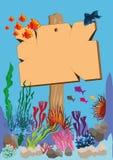 Enseigne marine Image stock