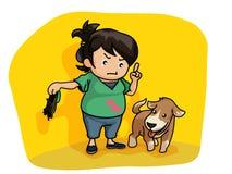 Enseignez mon chien Photo stock
