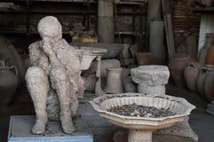 Ensemble av Pompeii Royaltyfri Fotografi