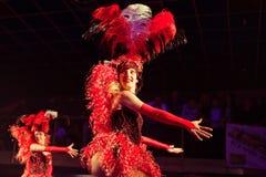 Ensemble cabaret Royalty Free Stock Photography