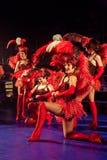 Ensemble cabaret Stock Photo