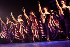 Ensemble cabaret Royalty Free Stock Photos