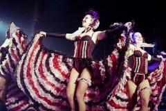 Ensemble cabaret Royalty Free Stock Photos