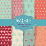 Ensemble chic de Boho Photographie stock libre de droits
