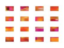 Ensemble color? de milieux illustration de vecteur