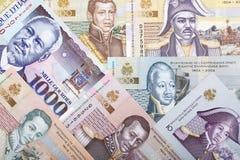 Ensemble complet d'argent haïtien, un fond